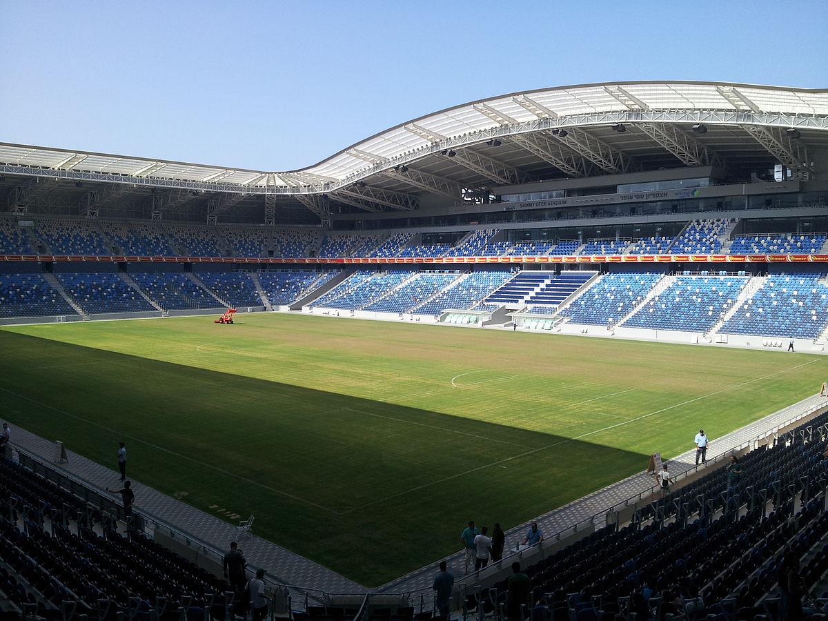 איצטדיון סמי עופר בחיפה. צילום מתוך ויקיפדיה