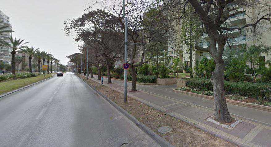 מסלול גולדה חולון. צילום מתוך גוגל מפות