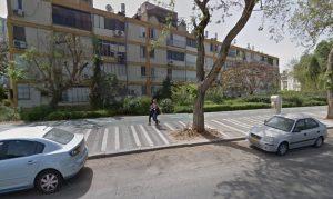 מסלול ההליכה ליד כיכר הדמעות חולון, מתוך גוגל מפות2