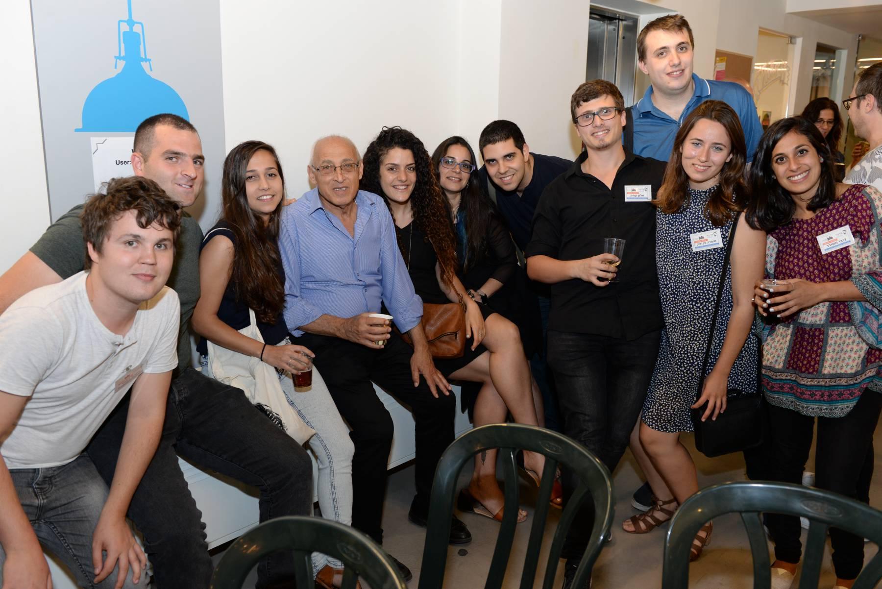 מפגש מועצות הנוער לדורותיהם. צילום: טל קירשנבאום