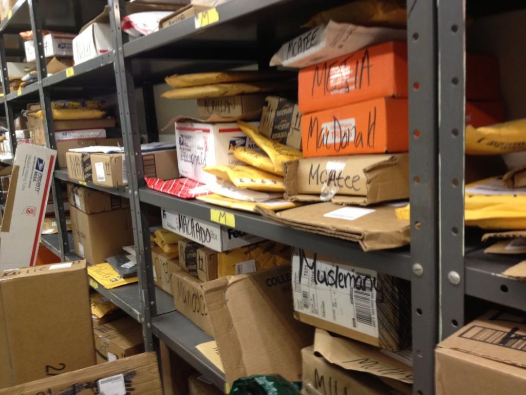 חבילות בדואר. שעות איסוף מגבילות