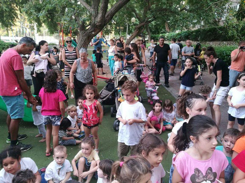 ילדים באגרובנק. מצוקת כיתות גן