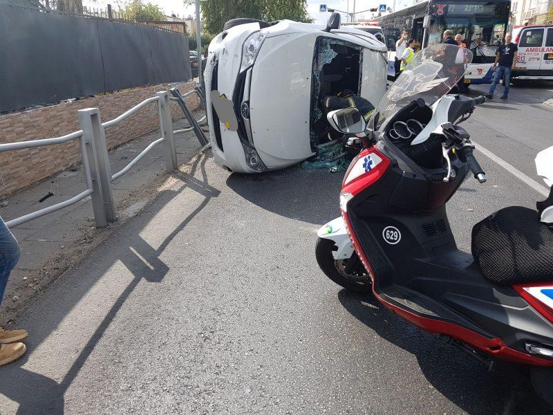 תאונה רכב חולון