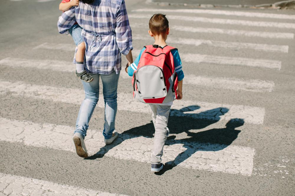 בטיחות בדרכים בדרך לבית הספר