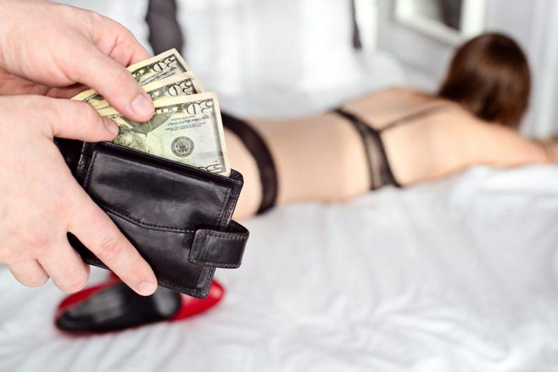 סחר בנשים למטרות זנות. אילוסטרציה