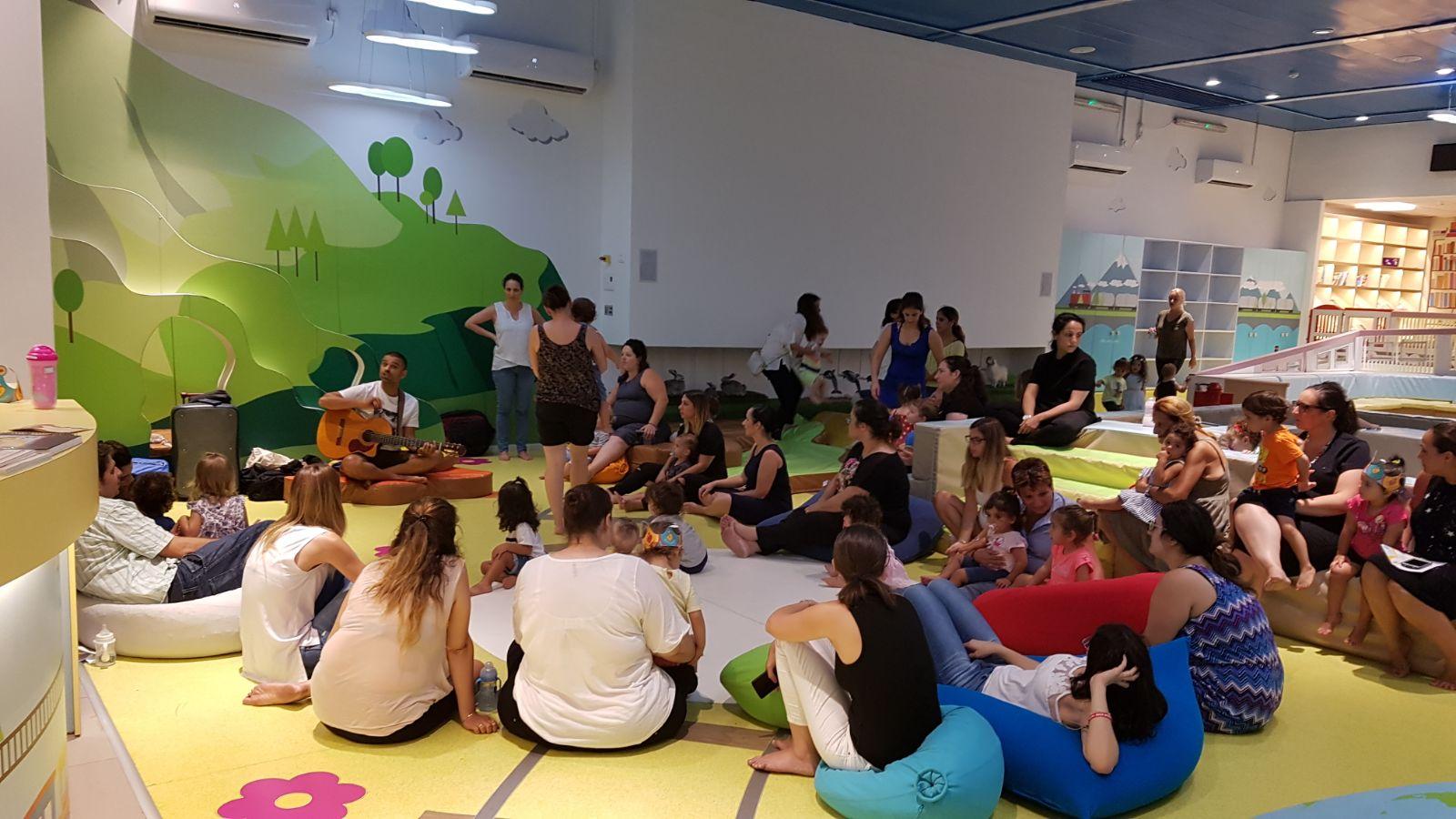 פעילות הורים וילדים במרכז טיפ-טף
