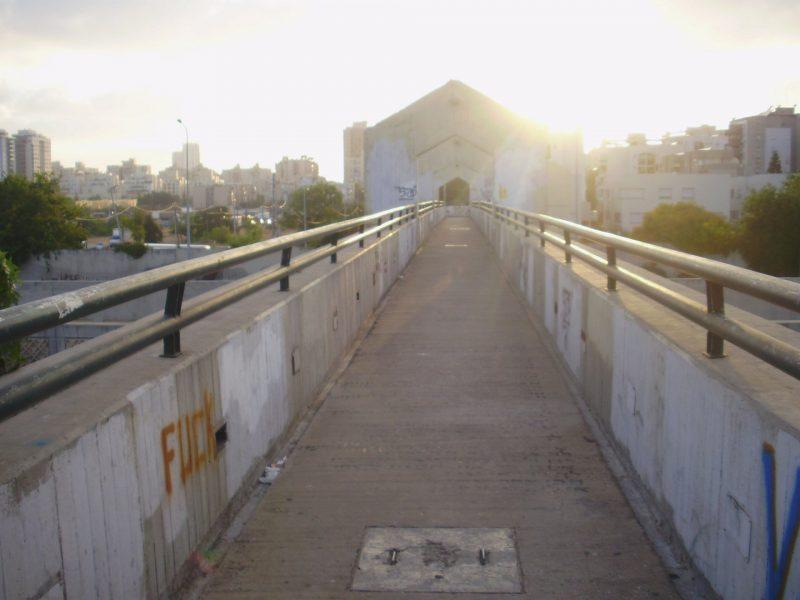 גשר התנאים. 17 שנות הזנחה. צילום: אורן שטרנברג