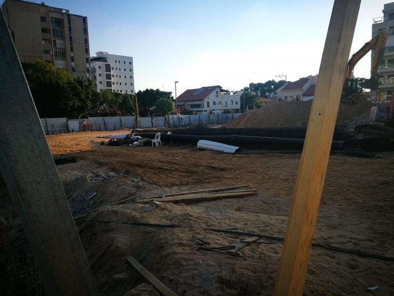 הבנייה כבר החלה בשיכון ותיקים