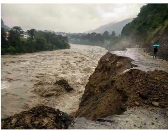 שטפונות באזור צפון הודו