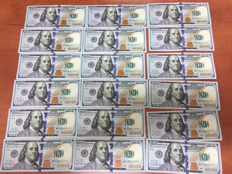 """הכספים שנתפסו ב""""ספא"""". צילום: דוברות המשטרה"""