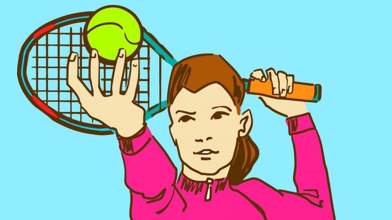 טניס. שאטרסטוק