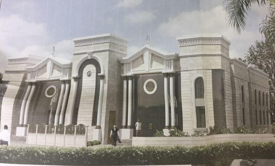 הדמיה. בית הכנסת בח-300