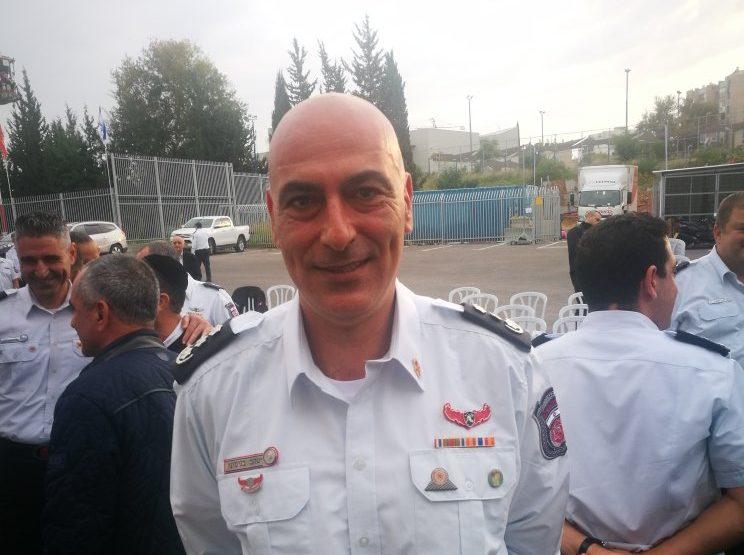 ג'קי בנימיני, מנהל תחנת כיבוי אש חולון, בת ים, אזור