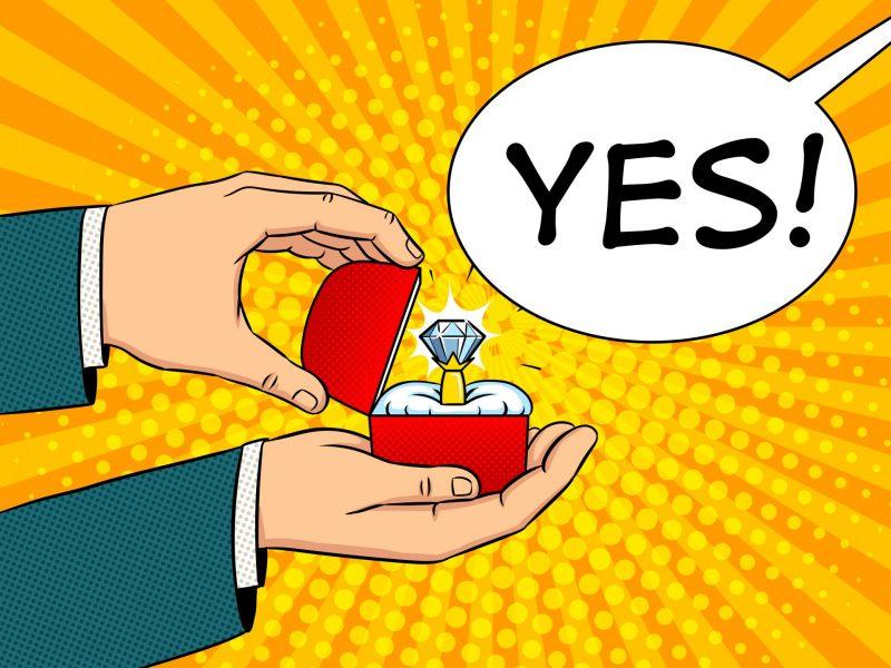 הצעת נישואין. אילוסטרציה: שאטרסטוק