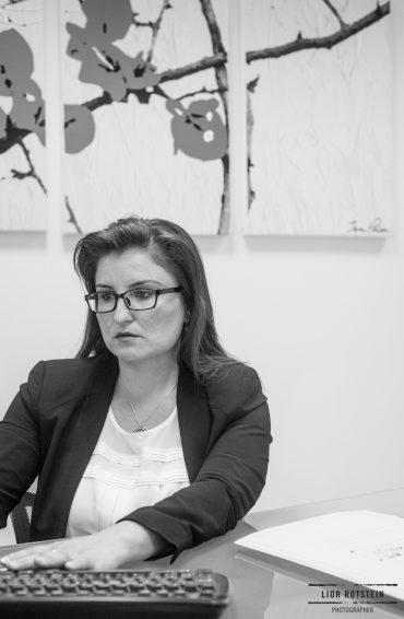 משרד עורכת דין ונוטריון אמה אליאב. צילום: ליאור רוטשטיין