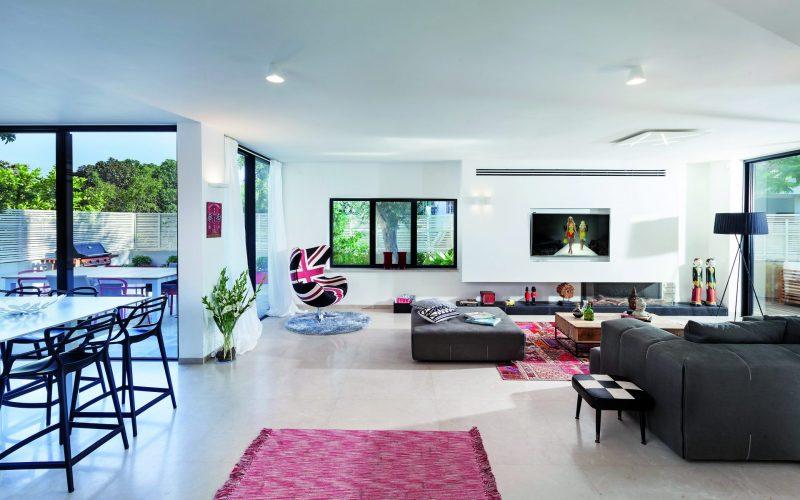שיפוץ ועיצוב בית פרטי ברמת אביב ג'. צילום: אלעד גונן