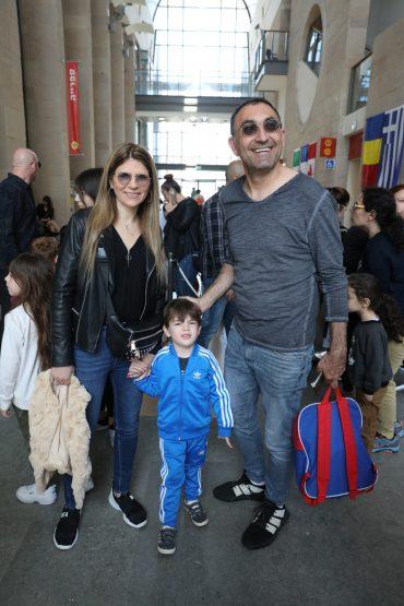 ישראל קטורזה והמשפחה. צילום: פי דלויה