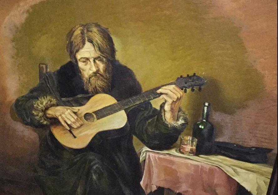 """ציור מהאוסף של דניאל ז""""ל. צילום: גלריית גרשון"""