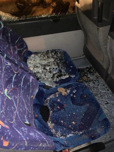 ונדליזם באוטובוסים