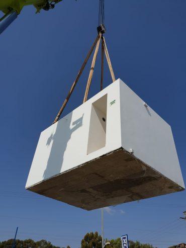 פתרונות למיגון חדר קיים או בניית יחידה חיצונית לפי צורכיכם (צילום: אורטק מערכות מיגון)