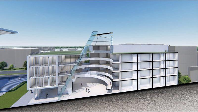 הדמיית הקמפוס החדש במכון הטכנולוגי