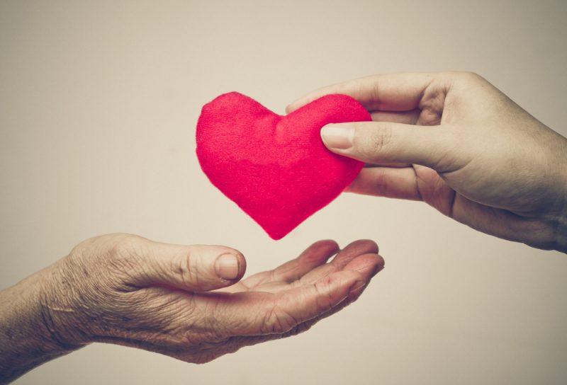 נתינה מכל הלב