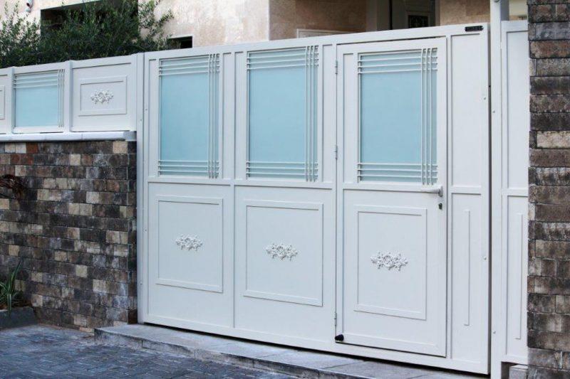 שערים לבית תוצרת טרלידור. צילום באדיבות הלקוח