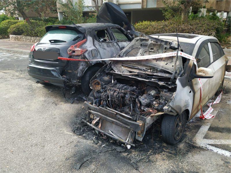 הרכבים שהוצתו בגבעת התחמושת