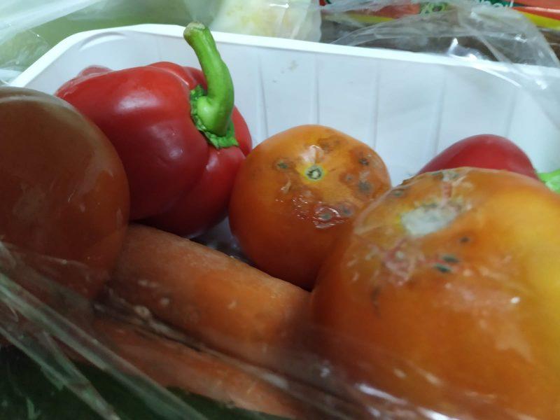 ירקות רקובים
