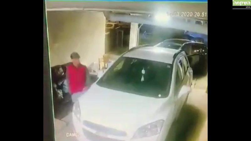 חשוד בפריצה לרכב בחולון