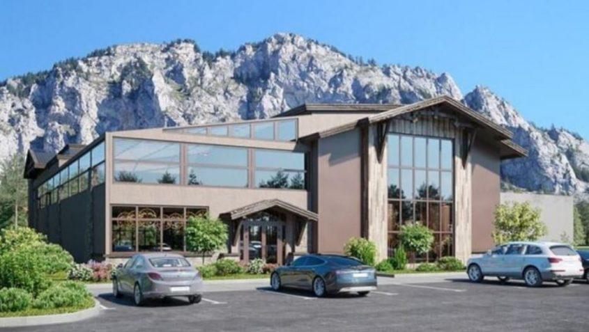 הדמיה אדריכלית מסעדה ונוף עוצר נשימה בארהב (צילום טריפל די הדמיות)