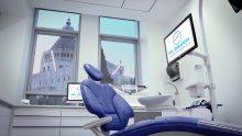 """מרפאתו של ד""""ר זכריא: מומחה לשיקום הפה בנצרת. צילום: עמאר סלאמה"""