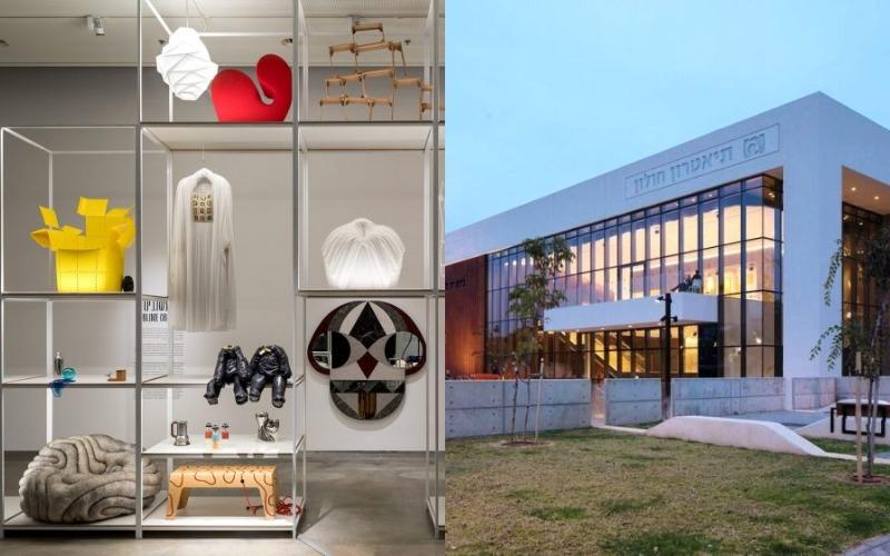 מוזיאון עיצוב גלריה תיאטרון חולון